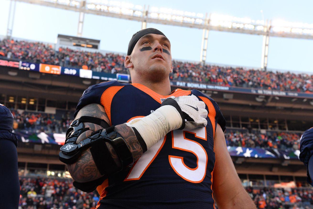 Denver Broncos defensive lineman measurables