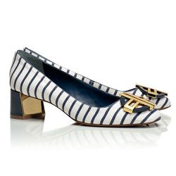 """<strong>Tory Burch</strong> Desi Printed Pump, <a href=""""http://www.toryburch.com/desi-printed-pump/11148308.html?dwvar_11148308_color=497&start=36&cgid=torys-shoe-guide"""">$295</a>"""
