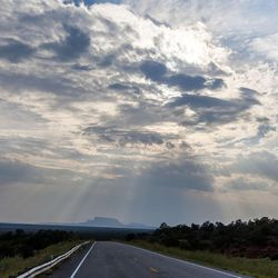 The sun shines down over the Bears Ears area, which is the center of a proposed 1.9 million acre region to be conserved and possible site of a national monument, near Blanding on Thursday, Aug. 20, 2015.