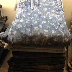Liberty x AG Jeans, $75
