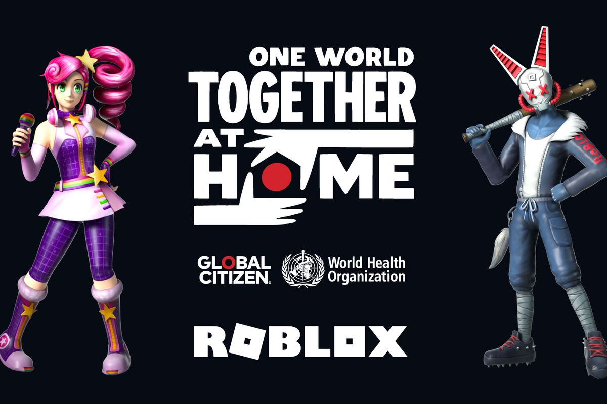 Roblox to stream the One World: Together At Home benefit