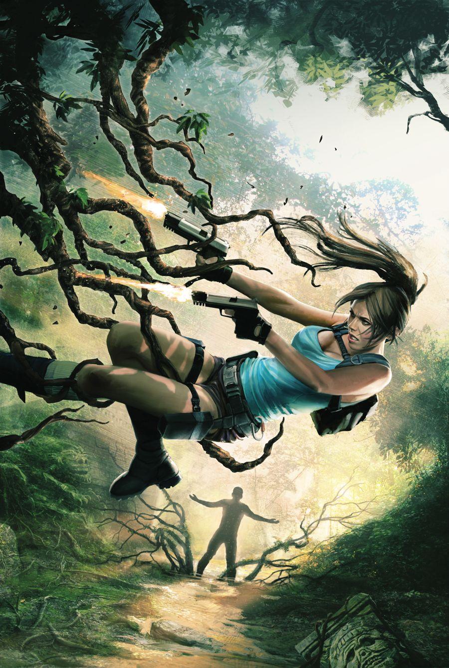 Lara Croft Frozen Omen