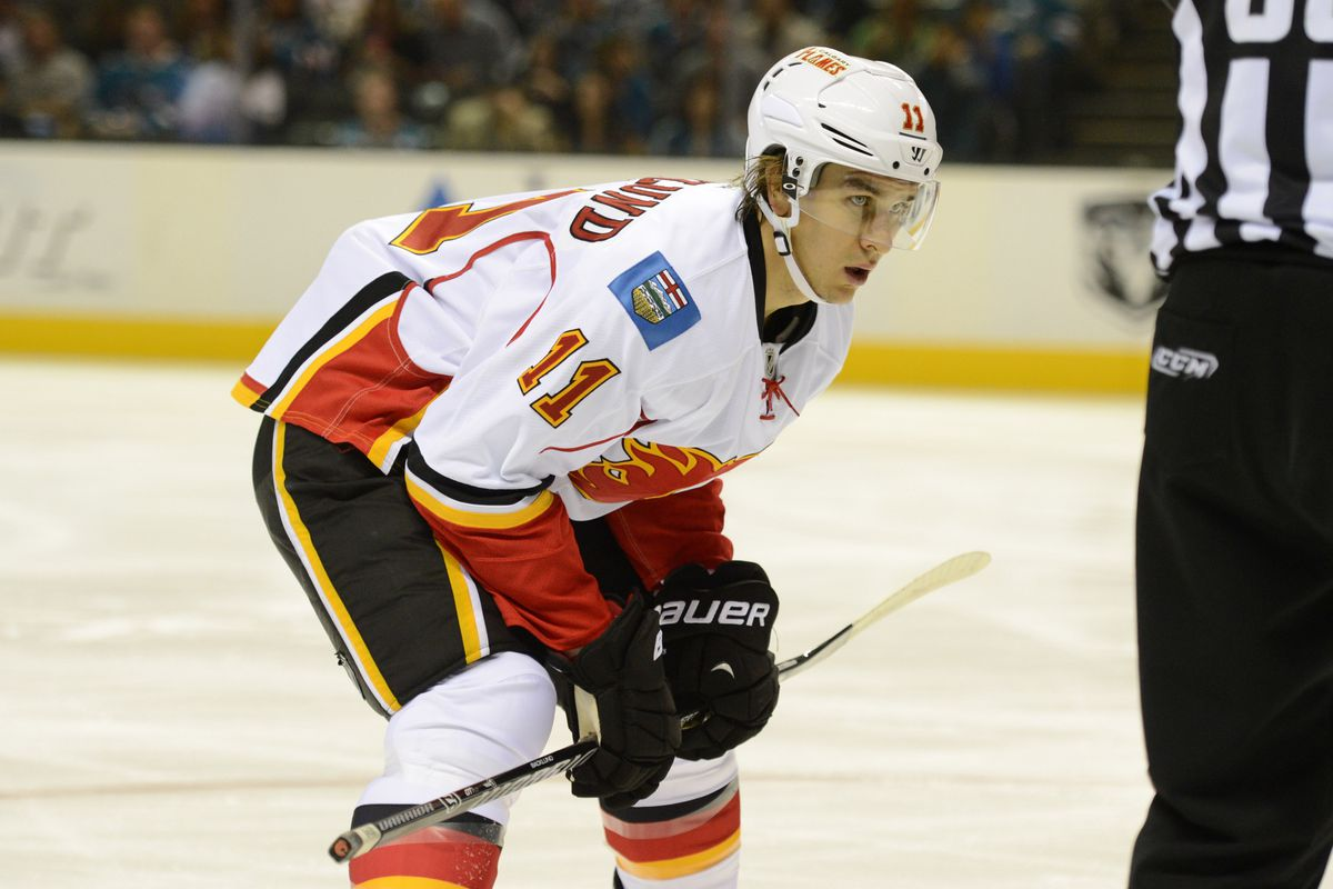 Mikael Backlund is very much the Flames' best centre at the moment.