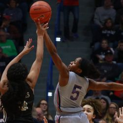 The UCF Knights take on the UConn Huskies in a women's college basketball game at the XL Center in Hartford, CT on January 27, 2019.