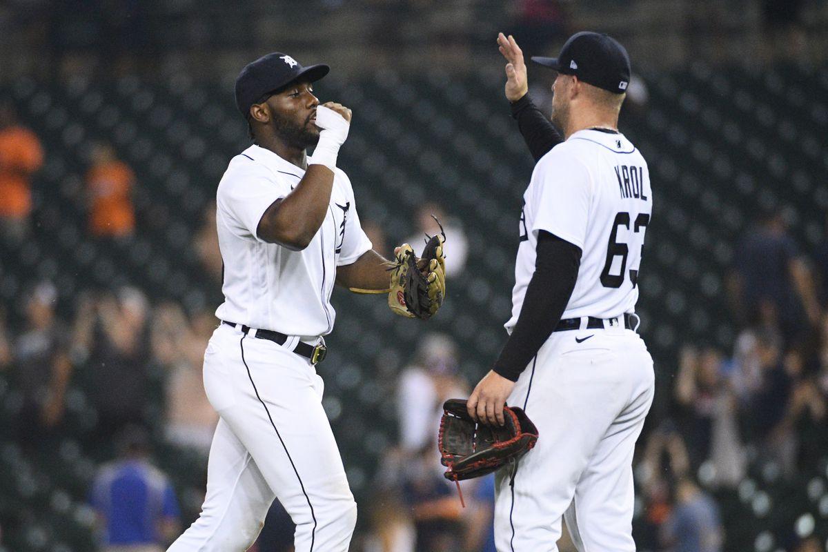 MLB: Texas Rangers at Detroit Tigers
