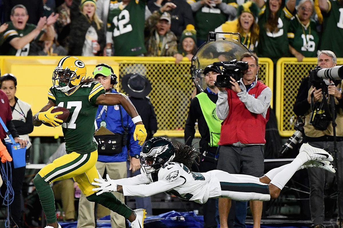 Philadelphia Eagles vGreen Bay Packers