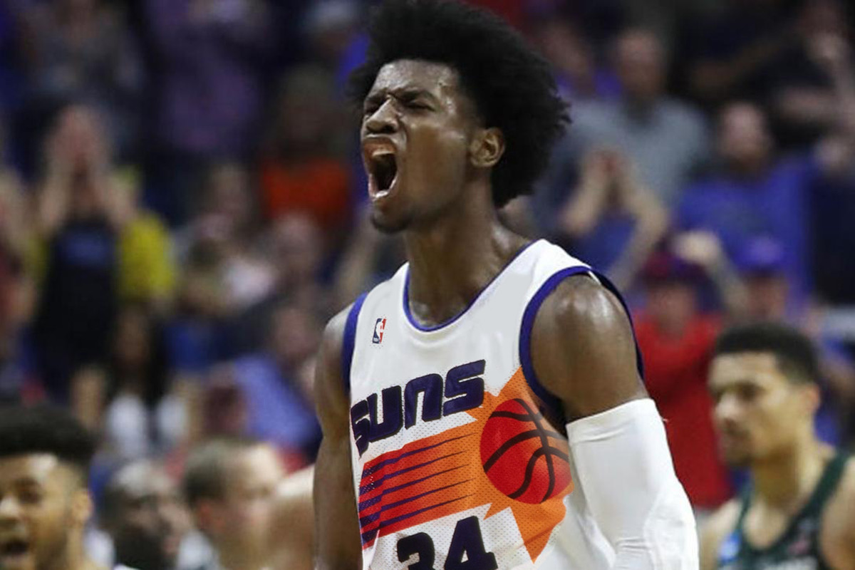 first rate 7e33a c6d69 Phoenix Suns select Josh Jackson with No. 4 Pick - Bright ...