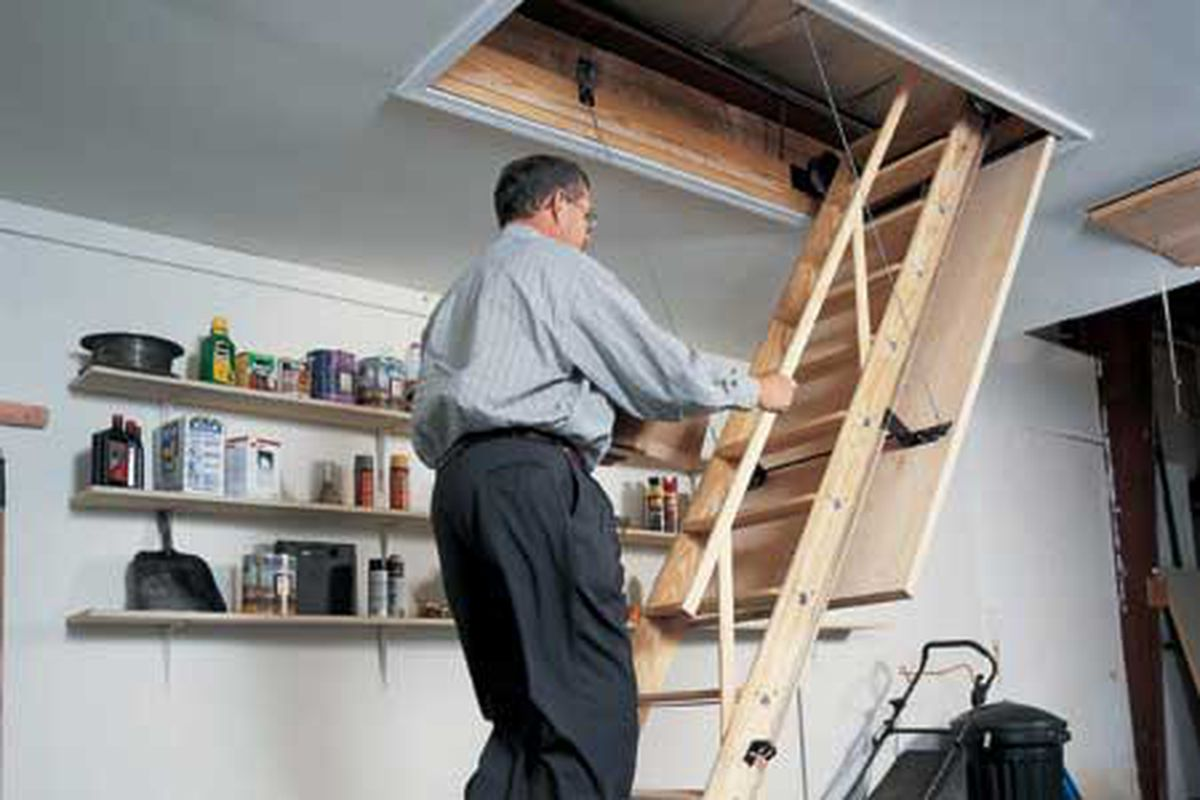 How To Install Pull Down Attic Stairs This Old House