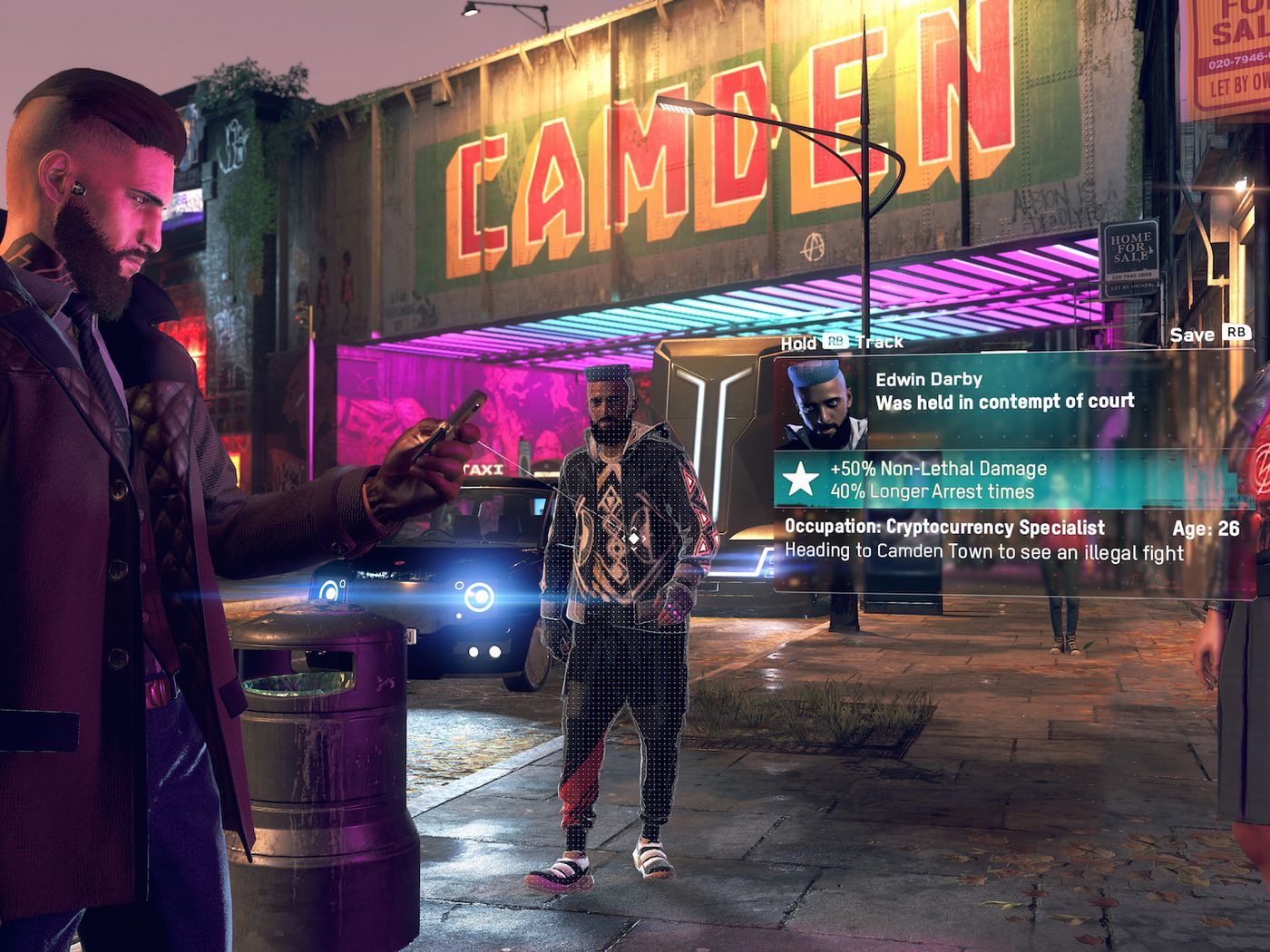 Watch Dogs Legion Hands On An Ambitious Evolution Of The Series The Verge