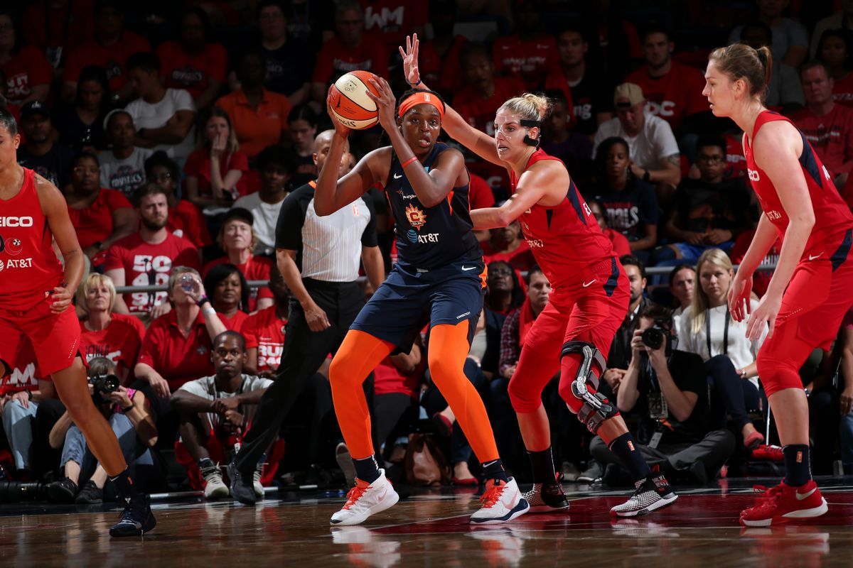 WNBA Finals: Sun look to even series with Mystics on Tuesday