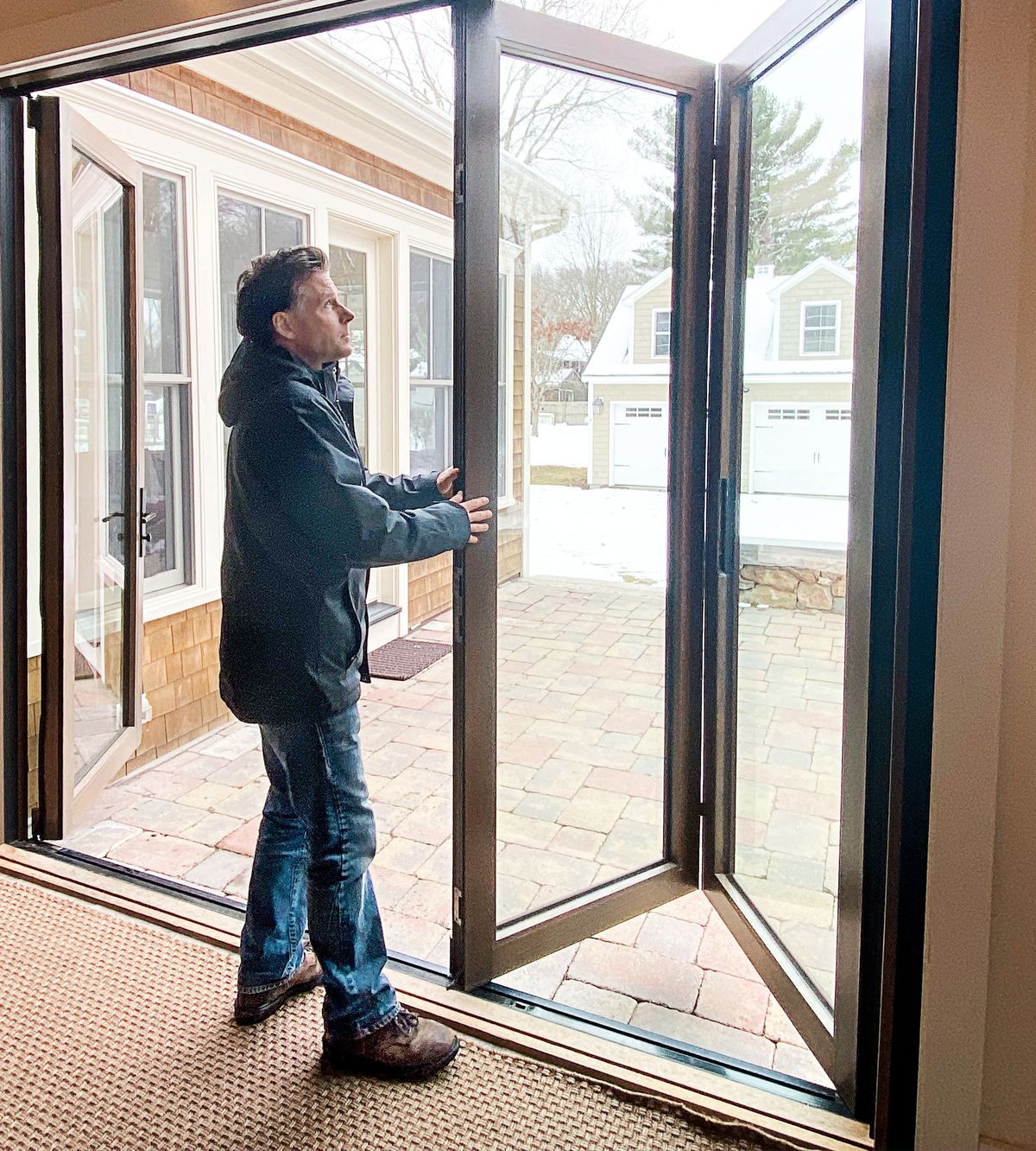 Summer 2021, All about: Multi-panel doors, folding door tested