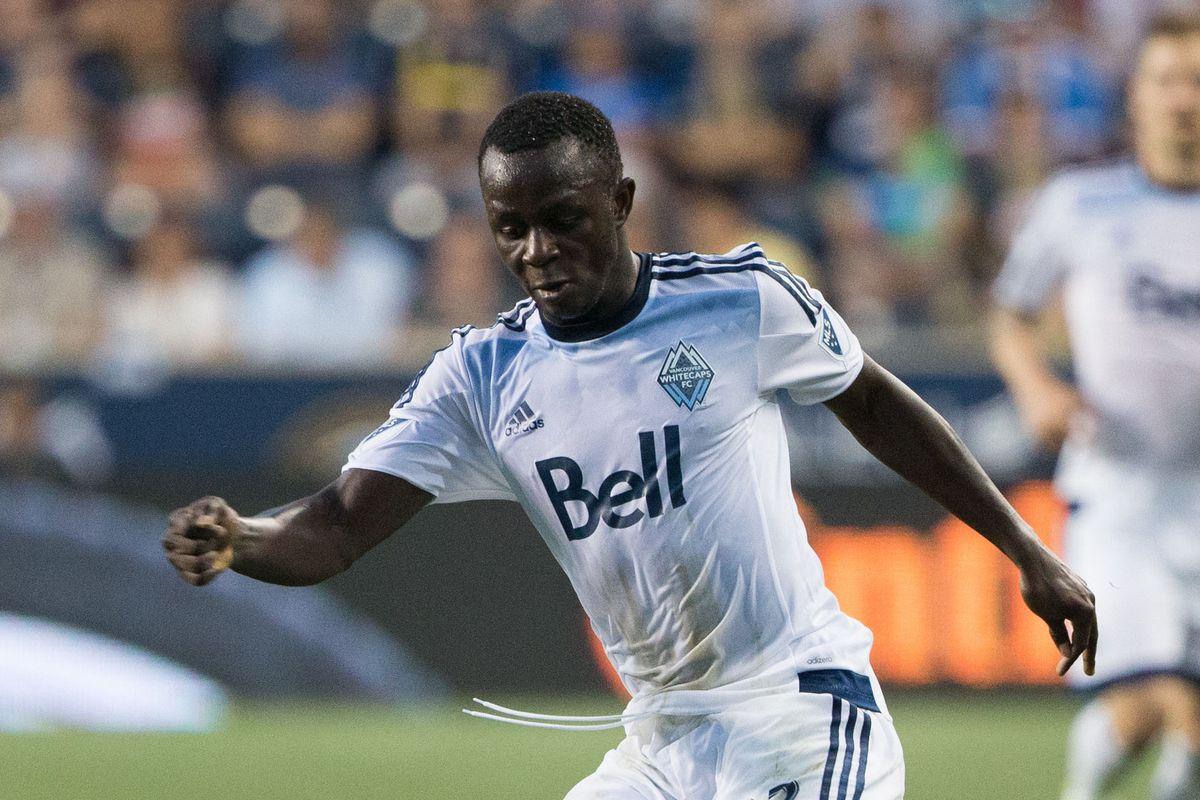 Kekuta Manneh has five goals for Vancouver Whitecaps this season
