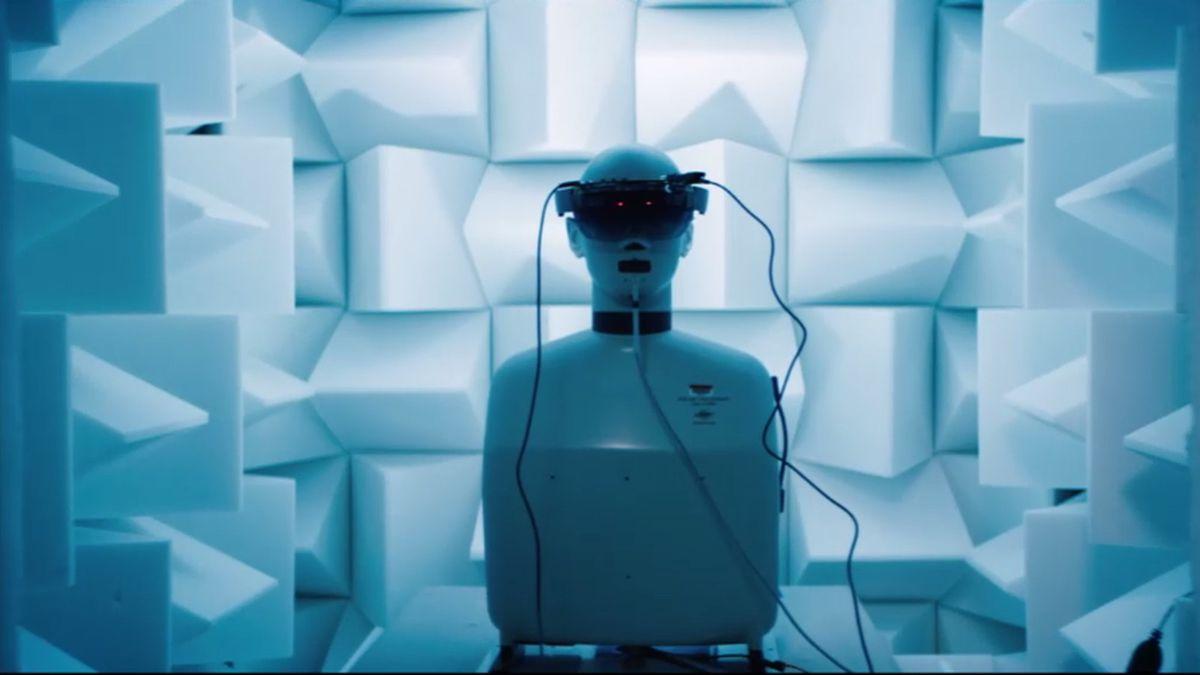 HoloLens test chamber