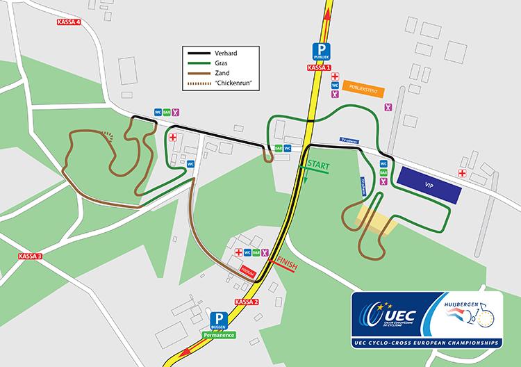 Huijbergen Map