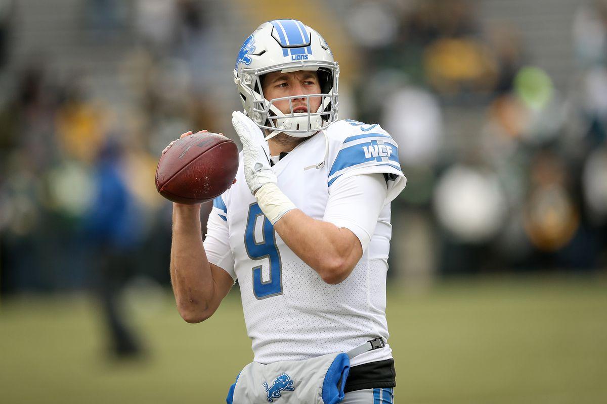 Matthew Stafford among top quarterbacks who target running backs