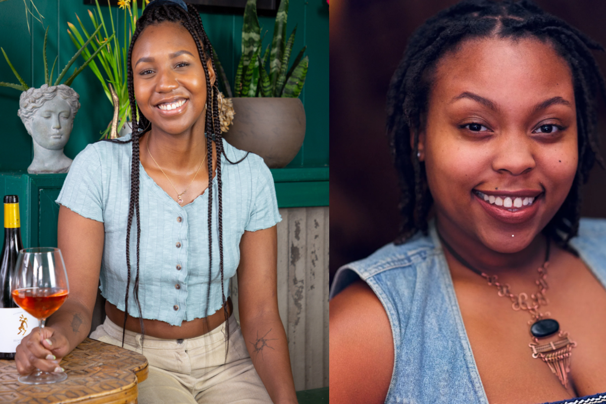 Empowering the Diner co-founders Erica Christian, left, and Kapri Robinson