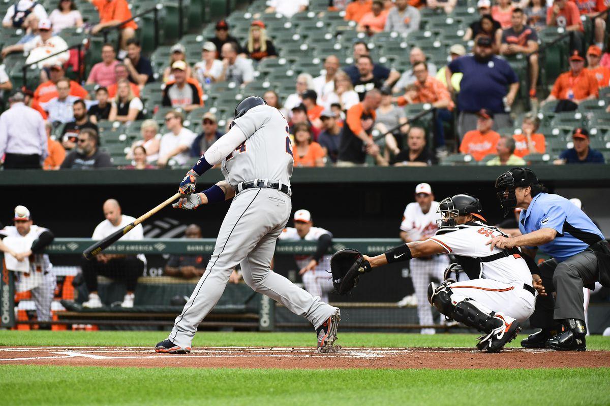 MLB: Detroit Tigers at Baltimore Orioles