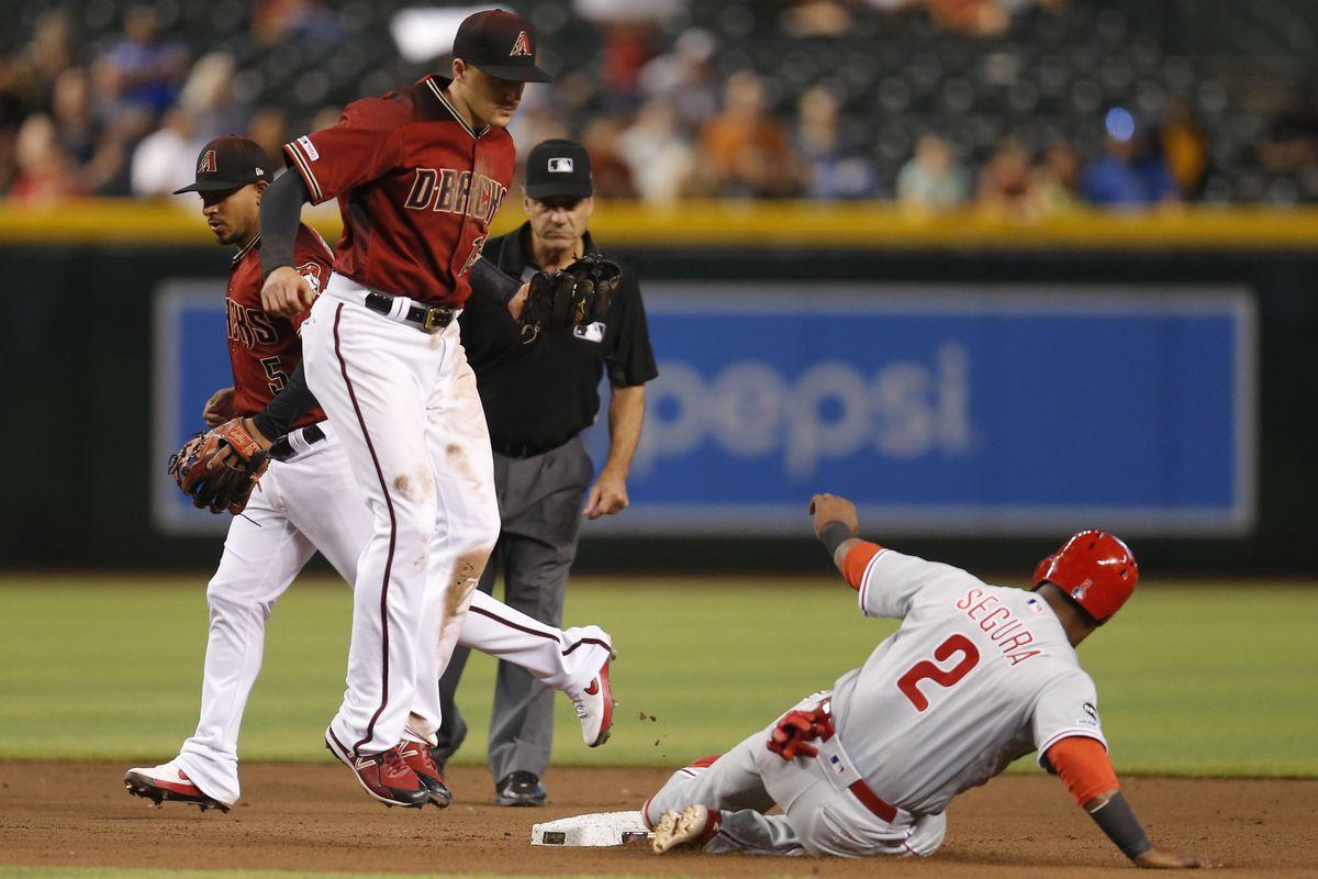 MLB: Philadelphia Phillies at Arizona Diamondbacks