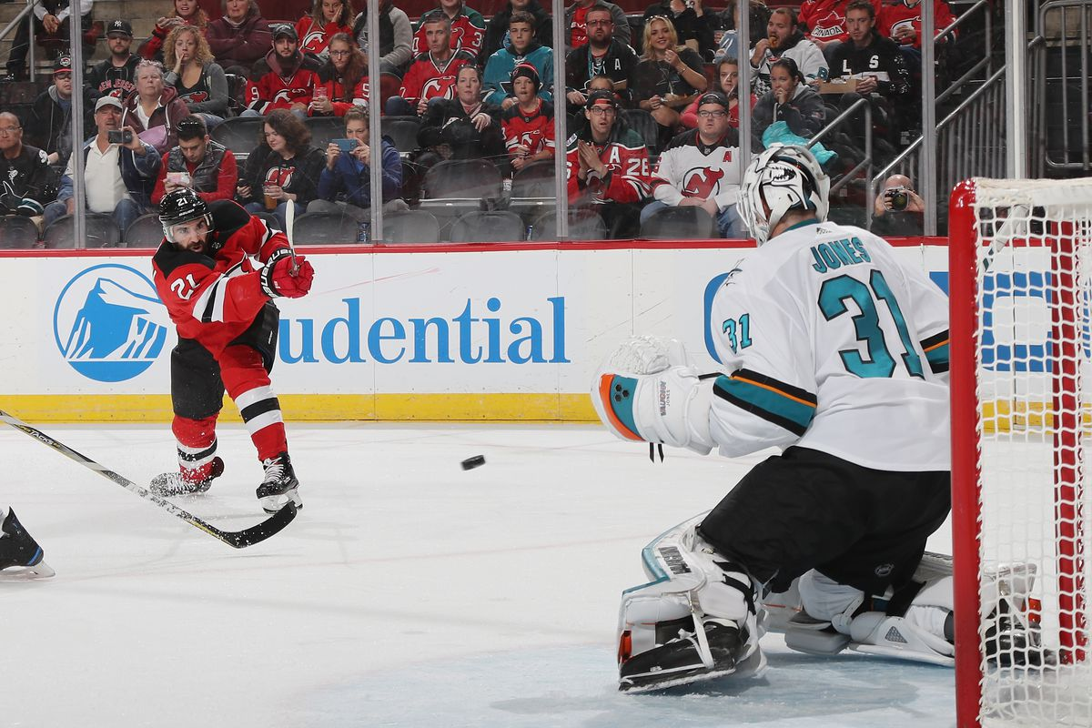 official photos bc6b5 af83d New Jersey Devils Edge San Jose Sharks with a Third Period ...