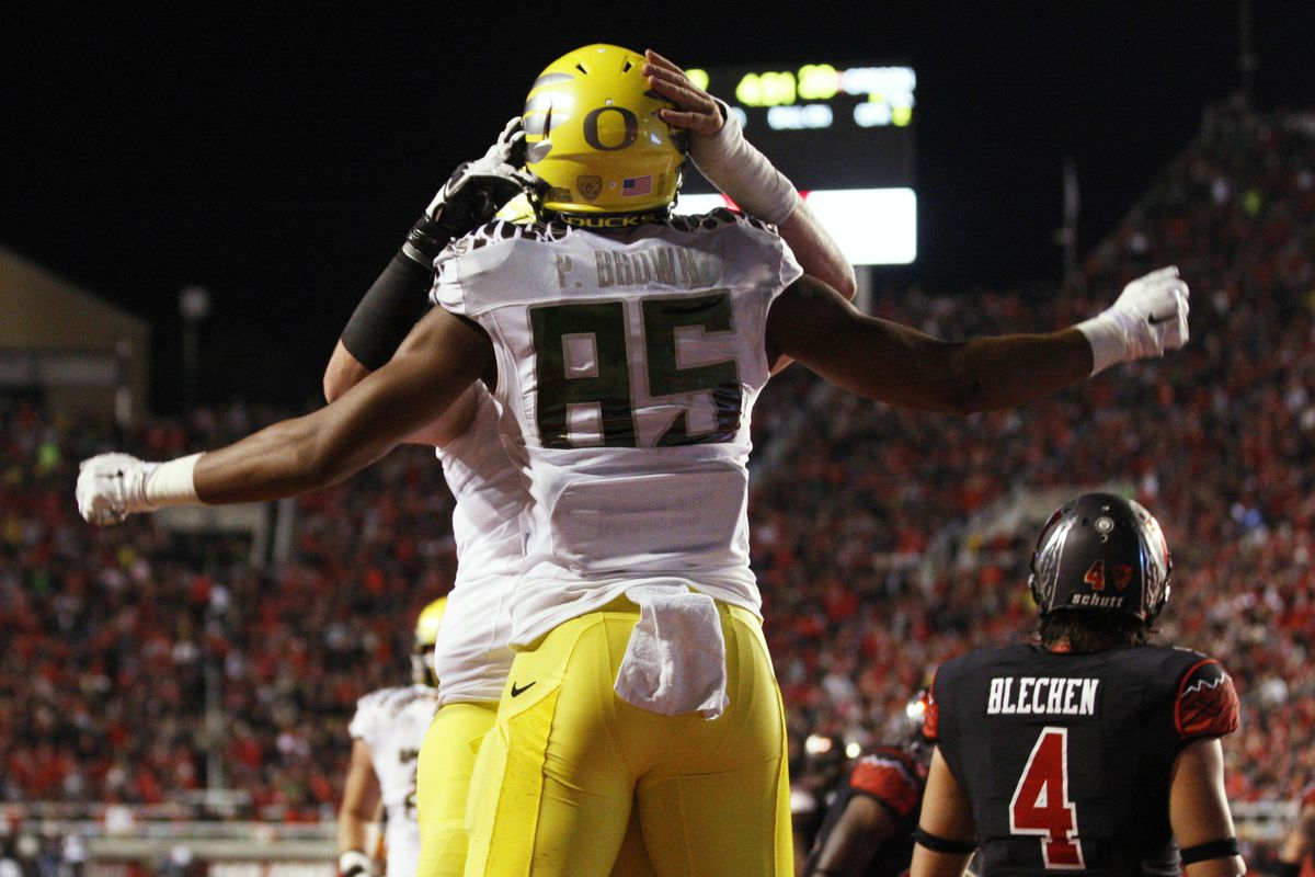 One-loss Oregon jumped undefeated Florida State after beating Utah on the road.