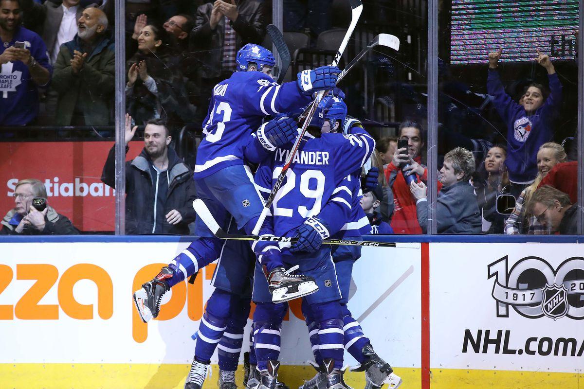 NHL: Winnipeg Jets at Toronto Maple Leafs