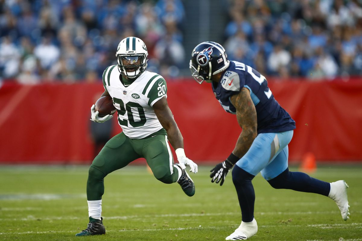 new style 52da5 16a68 Jets Release RB Isaiah Crowell - Gang Green Nation