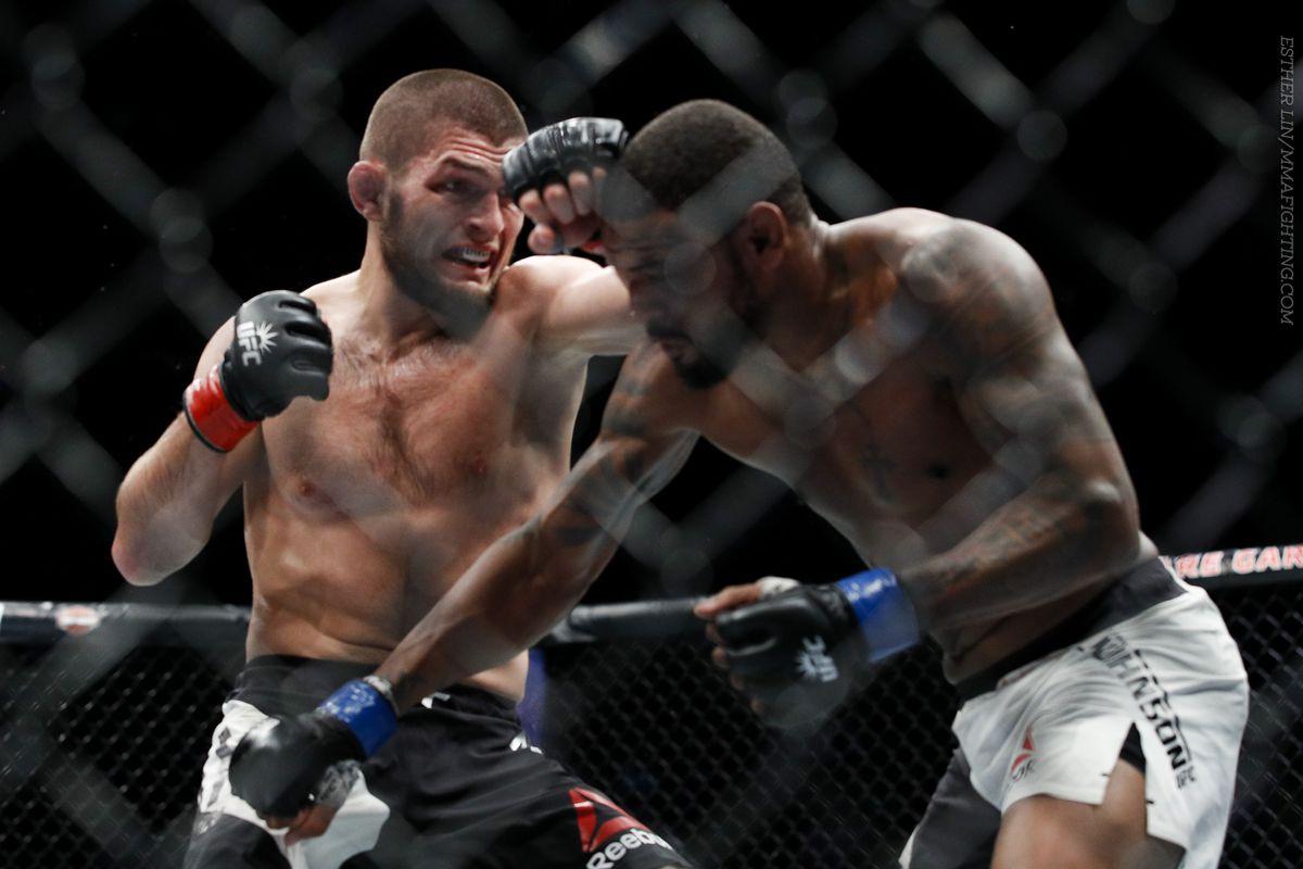 UFC 205 results: Khabib Nurmagomedov brutalizes Michael Johnson
