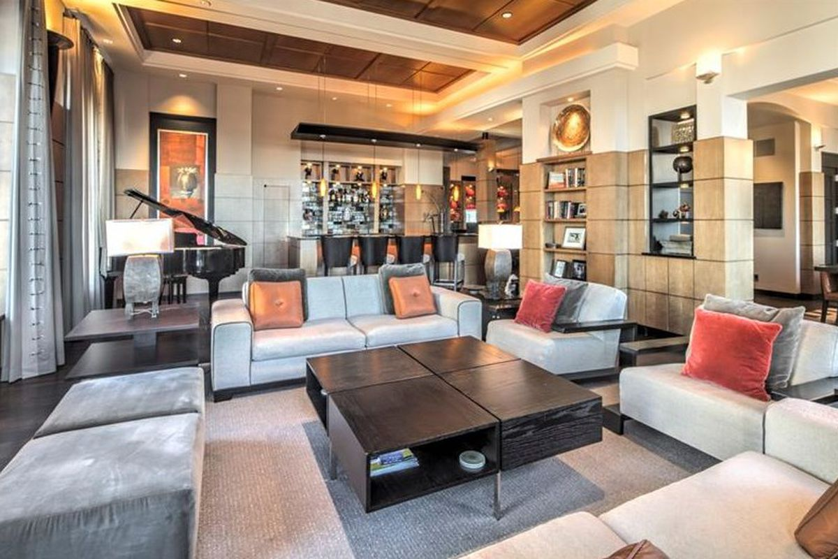 A downtown penthouse for sale in Atlanta right now.