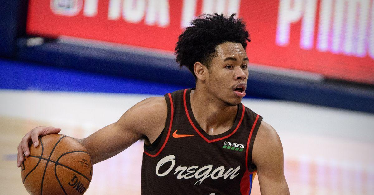 Anfernee Simons Wins the 2021 NBA All-Star Slam Dunk Contest - Blazer's Edge