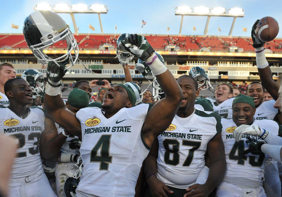 Outback Bowl - Michigan State Spartans v Georiga Bulldogs