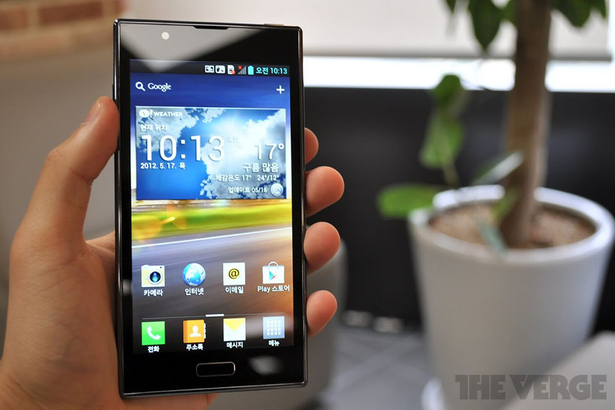Gallery Photo: LG Optimus LTE 2 hands-on images