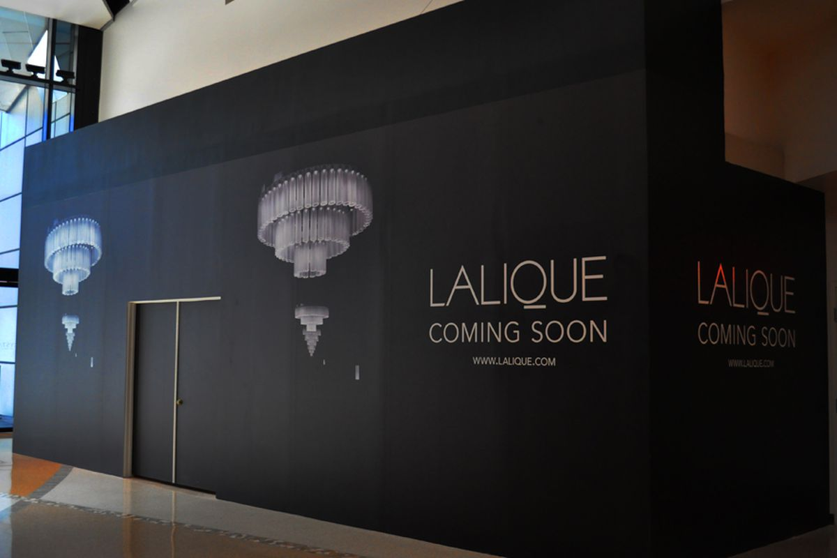 The future home of Lalique