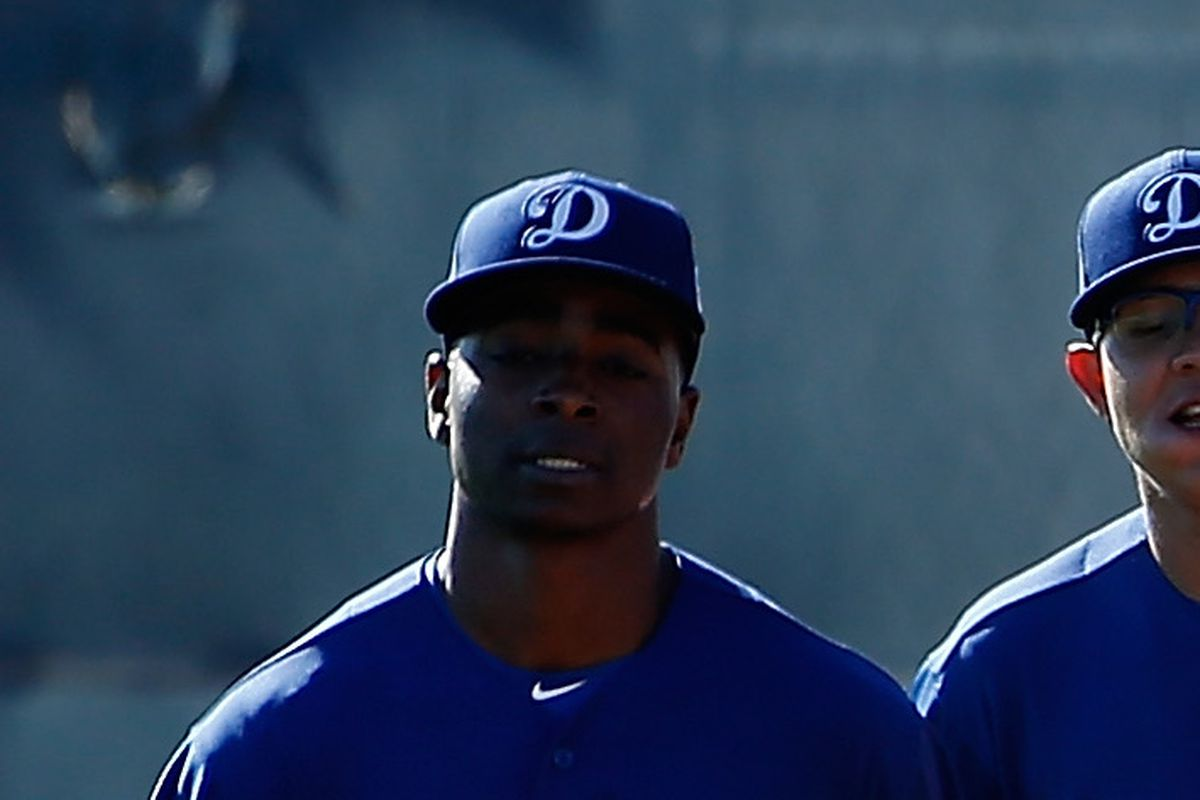 Jharel Cotton is one of two Dodgers who will play in the Futures Game in  San Diego on July 10. Christian Petersen Getty Images f1f4fbd3279f