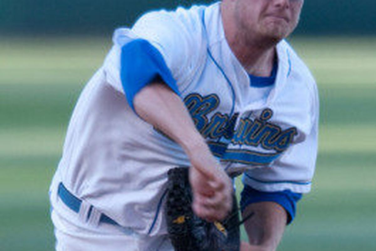 Gerrit Cole continued UCLA's run of strong pitching with a dominating 13 strike out outing (Photo Credit: Official Site)