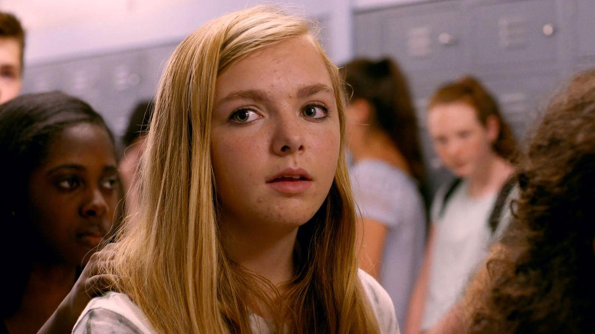 A scene from the movie Eighth Grade
