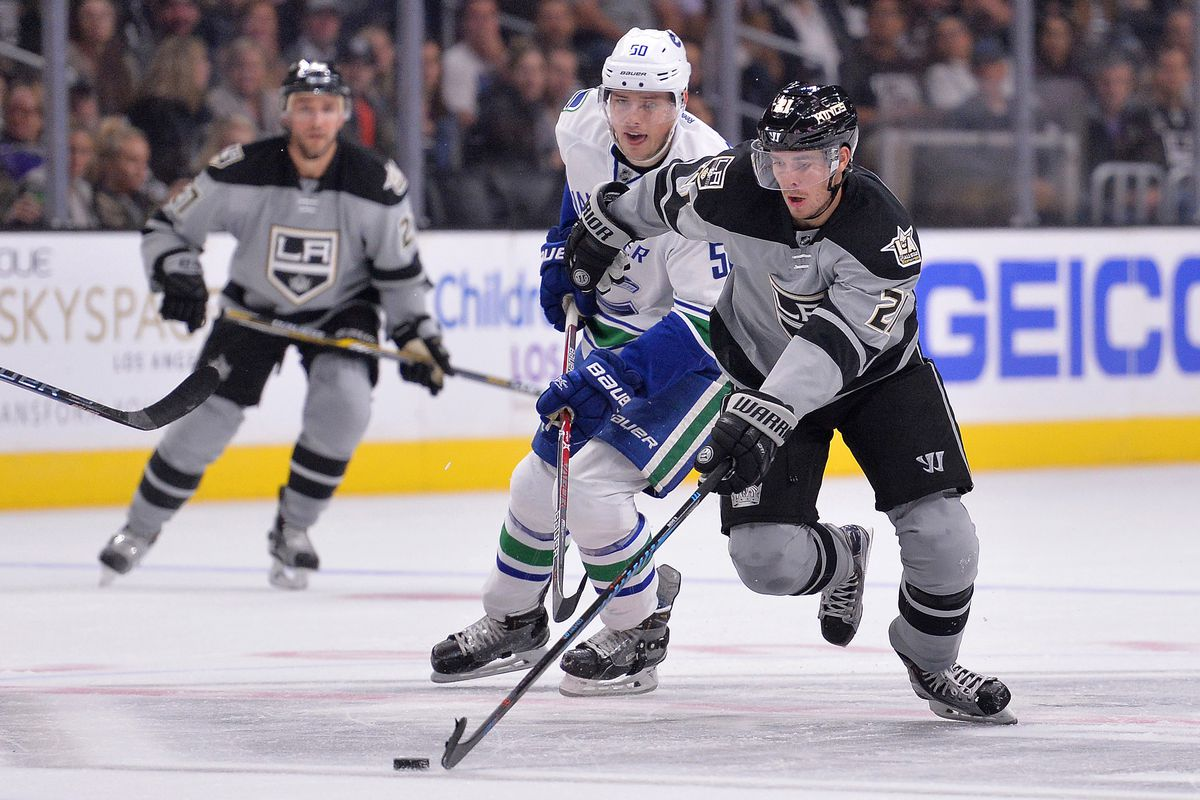 NHL: Vancouver Canucks at Los Angeles Kings