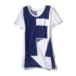 Women's t-shirt in blue, $25