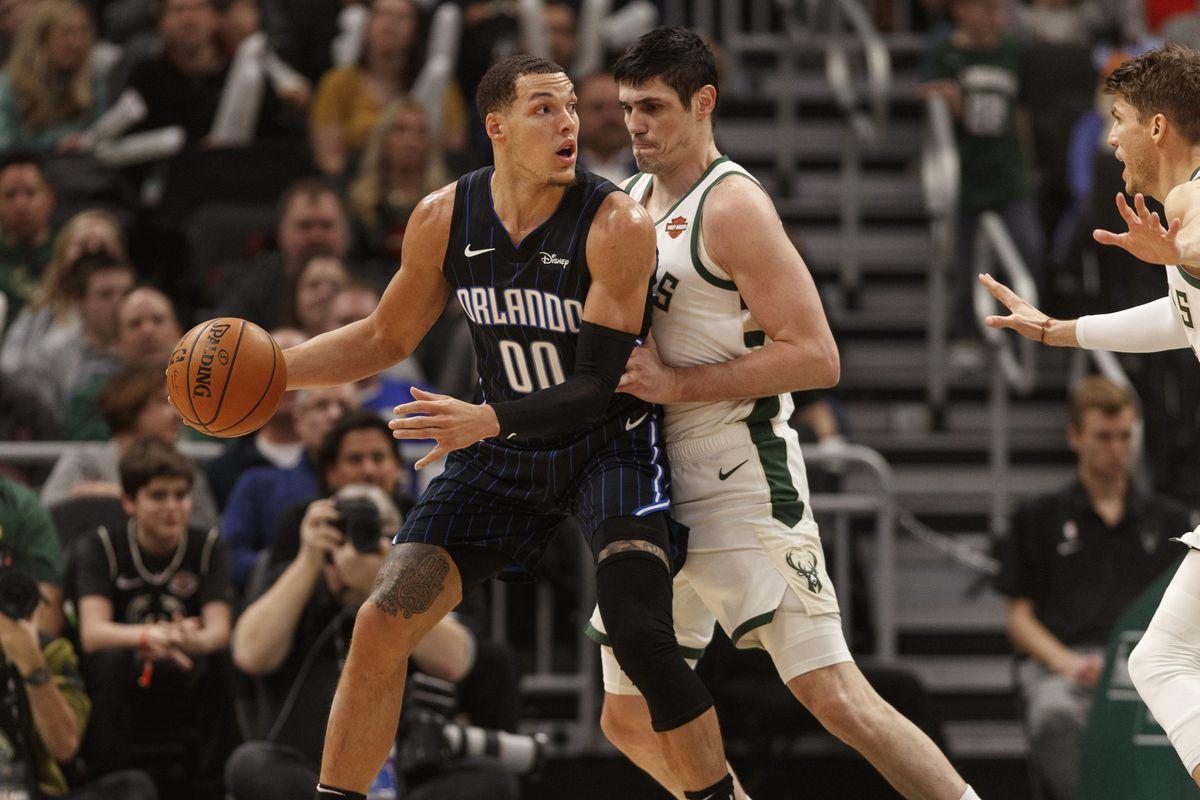 NBA: Orlando Magic at Milwaukee Bucks