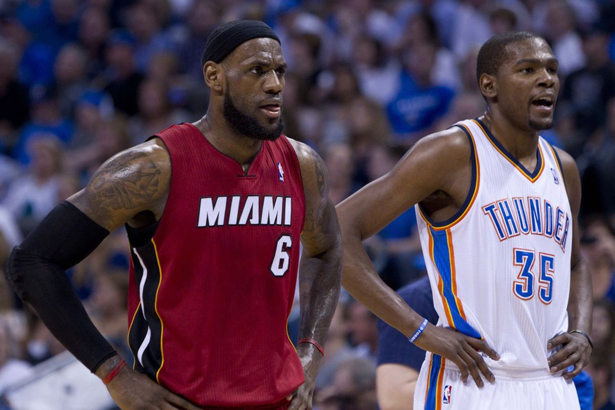 There's a reason why Miami and Oklahoma City are in the NBA Finals and the Nuggets are not: these two guys.