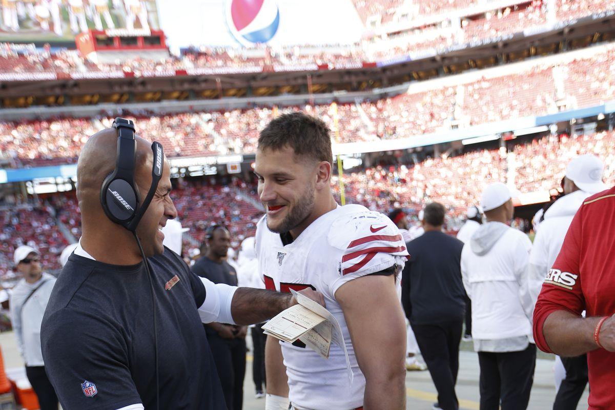 Carolina Panthers v San Francisco 49ers