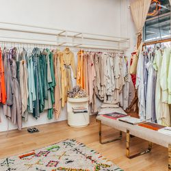 """<b>↑</b> Find out what all the hype is about surrounding <a href=""""http://ny.racked.com/archives/2014/04/14/electric_nest_for_your_laurel_canyon_fantasy_nyc_reality.php"""">designer</a> <b>Leana Zuniga's</b> boutique, <a href=""""http://www.electricfeathers.com/"""
