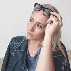 Garrett Leight frames have become one of Jen's latest obsessions.