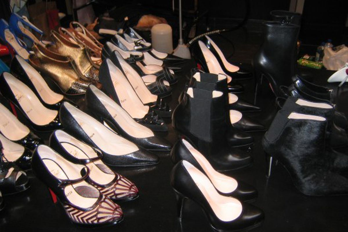 Shoes at the September sale