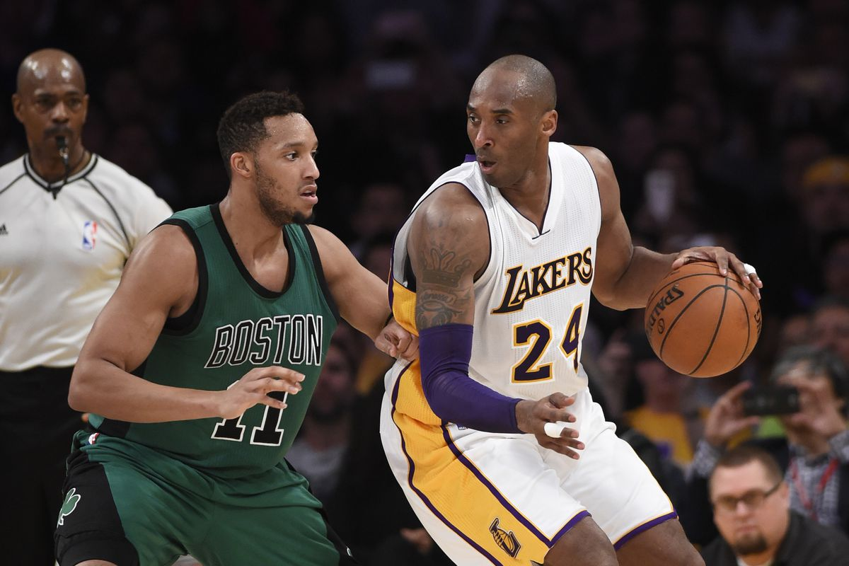 separation shoes ba1f8 8c1dc Kobe Bryant had one last punch left for the Boston Celtics