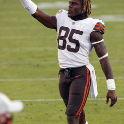 July 2020: With the team signing Austin Hooper and drafting Harrison Bryant, David Njoku reportedly requested a trade multiple times through his agent. Later in the offseason, Njoku backed off the request and remains with the club today.