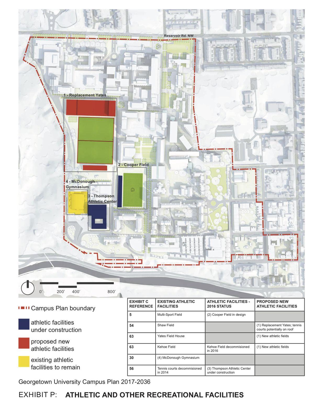 georgetown campus map pdf Georgetown University S Revised 20 Year Campus Plan Revealed georgetown campus map pdf