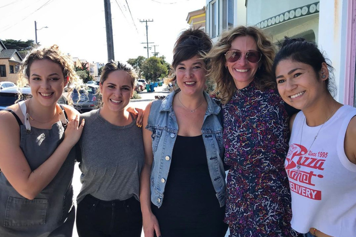 Julia Roberts Lunches At Outerlands In San Francisco Eater Sf