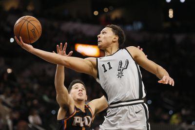 NBA: Phoenix Suns at San Antonio Spurs