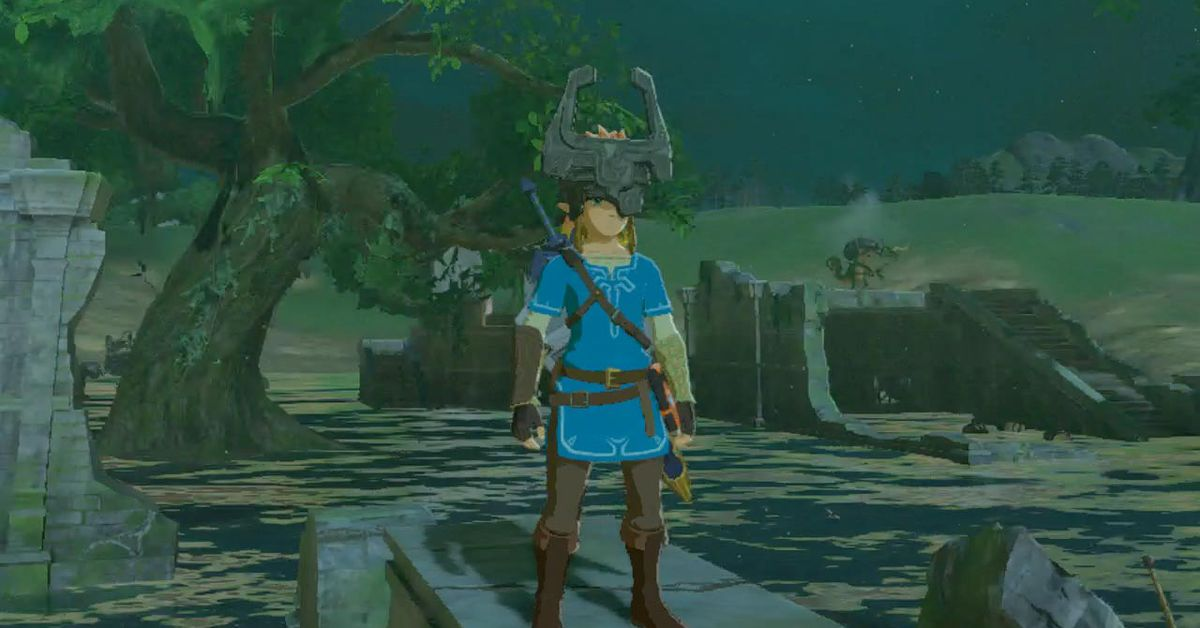Zelda Breath Of The Wild Guide How To Find Midna S Helmet In The Master Trials Dlc Polygon