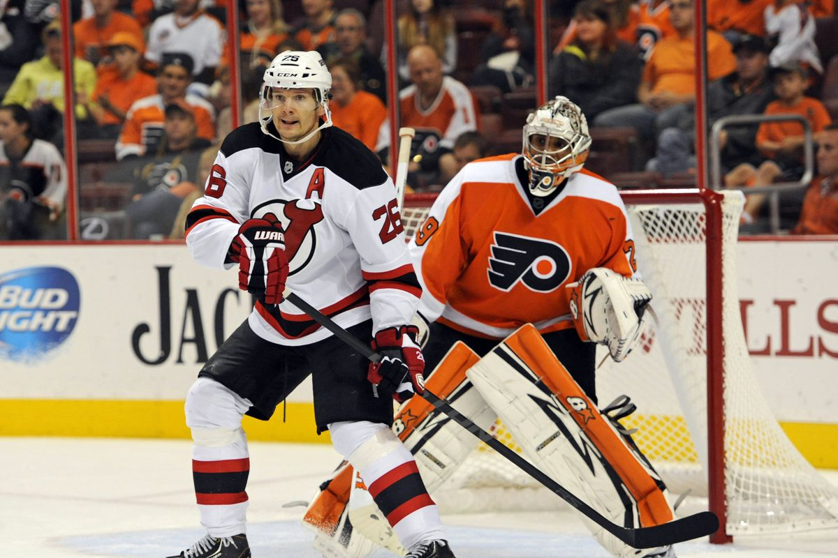 Patrik Elias was put on IR to help the Devils meet the 23-man requirement today.  He'll be fine, though.
